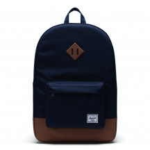 Herschel rugzak Heritage peacoat/saddle brown