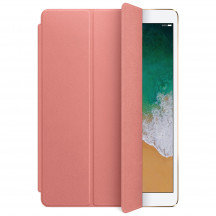 Apple iPad Pro 10,5-inch Leren Smart Cover zachtroze
