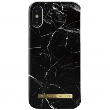iDeal of Sweden Case iPhone XS Max black marble