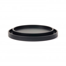 XLBoom dienbladen Low Tray Round coffee bean