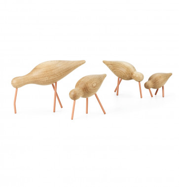 Normann Copenhagen shorebirds koraal