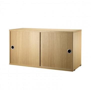 String Cabinet kast eik
