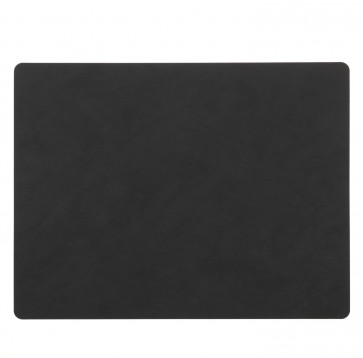 LindDNA Square placemat nupo zwart