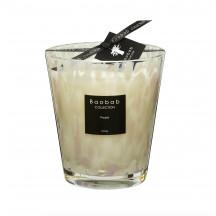 Baobab geurkaars white Pearls max 16