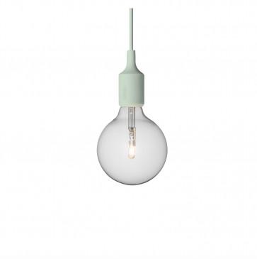 Muuto E27-lamp lichtgroen