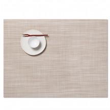 Chilewich placemat mini basketweave parchment