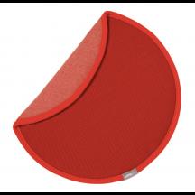 Vitra zitkussen Seat Dot rood/donkerrood