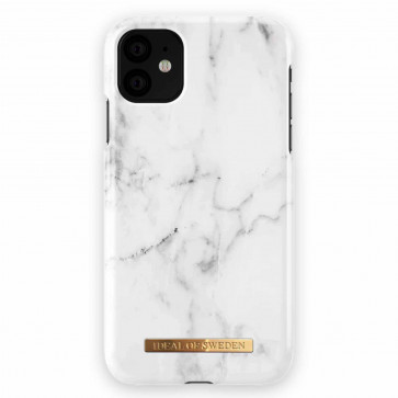 iDeal of Sweden Case iPhone 11 white marble