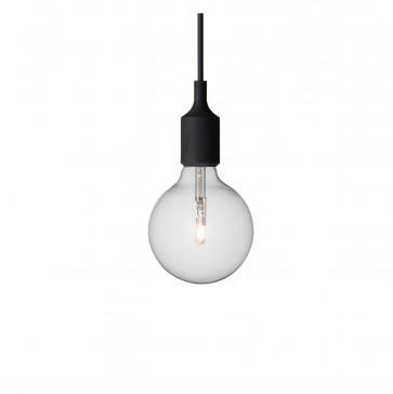 Muuto E27-lamp zwart