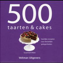 500 taarten en cakes