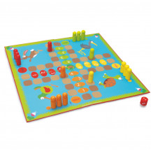 Scratch set van 2 bordspellen tuin