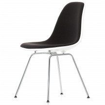 Vitra Eames Plastic Side Chair DSX bekleed