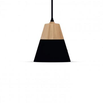 Universo Positivo Cone hanglamp Fat zwart