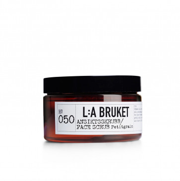 L:A Bruket 050 gezichtsscrub Petitgrain 100ml