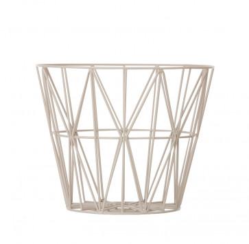 Ferm Living Wire Basket large grijs