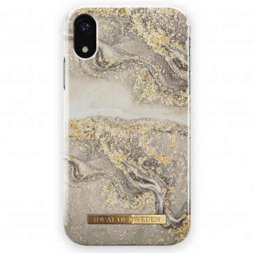 iDeal of Sweden Case iPhone XR sparkle greige marble