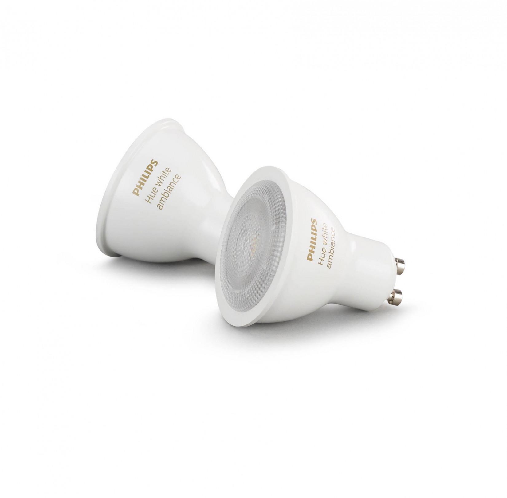 Philips Hue Lampen Gu10.Philips Hue White Ambiance Gu10 Lampen Duopak