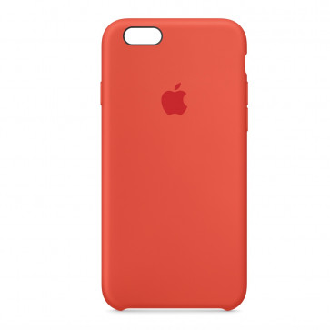 Apple iPhone 6s silicone case oranje
