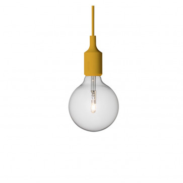 Muuto E27-lamp mosterd
