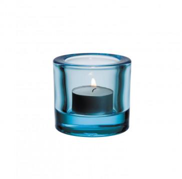 Iittala theelichthouder Kivi lichtblauw
