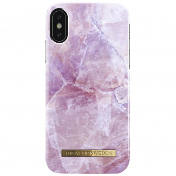 iDeal of Sweden Case iPhone X(S) pilion pink marble