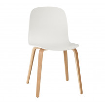 Muuto Visu Chair Wood Frame eik/wit