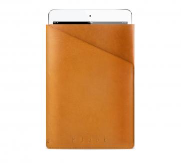Mujjo Slim Fit Sleeve iPad mini bruin