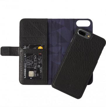 Decoded 2-in-1 Wallet Case iPhone 8 Plus/7 Plus/6(s) Plus zwart