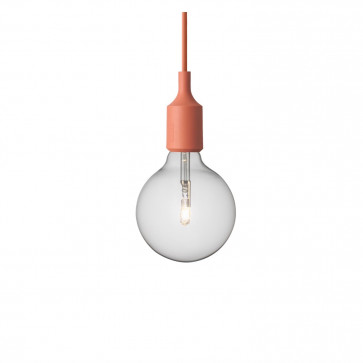 Muuto E27-lamp terracotta