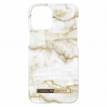 iDeal of Sweden iPhone 12/iPhone 12 Pro Case golden pearl marble