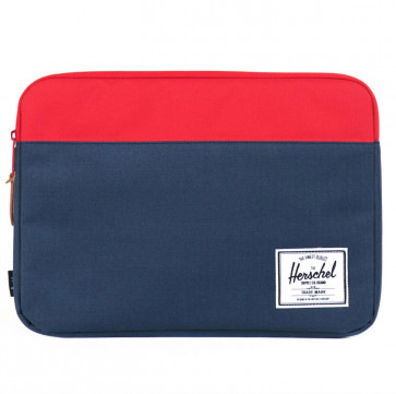 Herschel Anchor sleeve 15-inch MacBook Pro Retina navy/rood