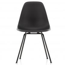 Vitra Eames Plastic Side Chair DSX zwart onderstel