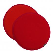 Vitra Seat Dot rood/poppyrood - oranje
