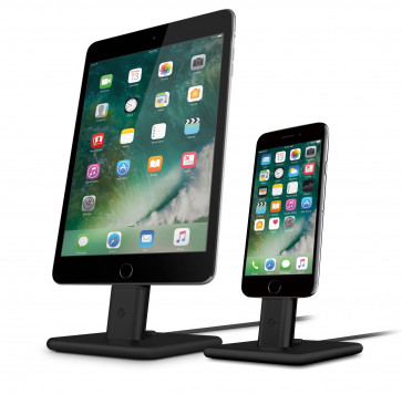 Twelve South HiRise 2 Deluxe iPhone iPad iPod Lightning dock zwart