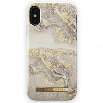 iDeal of Sweden Case iPhone X(S) sparkle greige marble