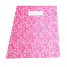 Bakker A4 schrift roze/wit