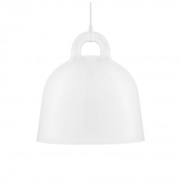 Normann Copenhagen Bell hanglamp medium wit