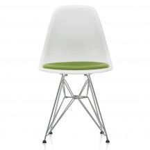 Vitra Eames Plastic Side Chair DSR met zitkussen