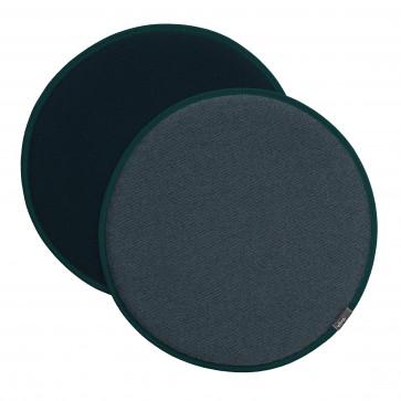 Vitra Seat Dot nero/ijsblauw - petrol/nero