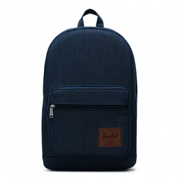 Herschel rugzak Pop Quiz indigo denim crosshatch