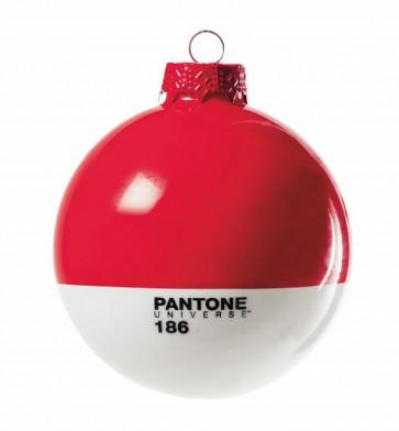 Pantone Universe kerstbal rood