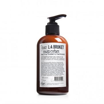 L:A Bruket handcrème 092 salie rozemarijn lavendel 250 ml