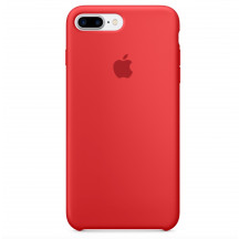 Apple iPhone 8 Plus/7 Plus siliconenhoesje (PRODUCT)RED