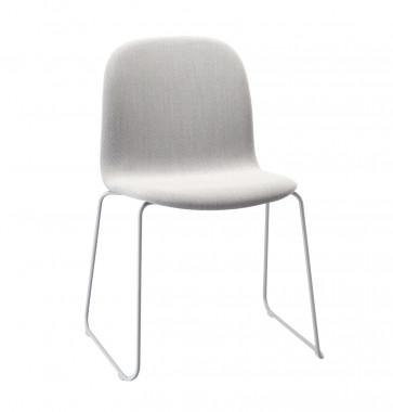 Muuto Visu Chair Sled Base steelcut