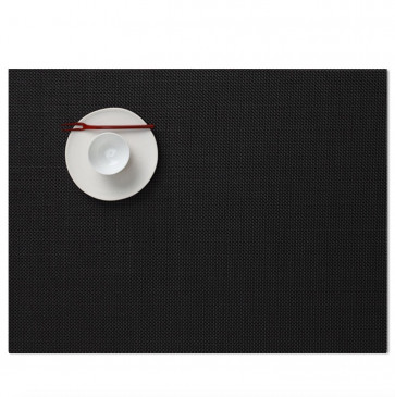 Chilewich placemat mini basketweave zwart