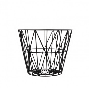 Ferm Living Wire Basket medium zwart