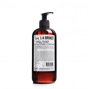 L:A Bruket 094 vloeibare zeep salie rozemarijn lavendel