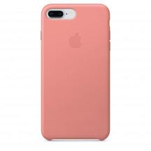 Apple iPhone 8 Plus/7 Plus leren hoesje zachtroze