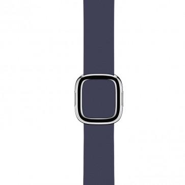 Apple Watch middernachtblauw bandje moderne gesp
