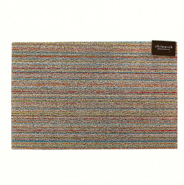 Chilewich deurmat Skinny Stripe soft multi